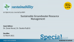 Sustainable Groundwater Resource Management